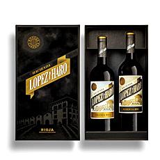 Envoyez cet élégant duo de vins rouges espagnols la prochaine fois quil vous faut un cadeau dentreprise chic, ou un cadeau pour la famille et les amis.