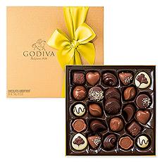 Le printemps est dans lair lorsque vous présenterez ce magnifique Boîte Gold à un véritable amoureux de chocolat.