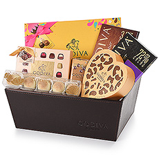 Exquisite Godiva gift hamper featuring the new limited-edition Chocolate Carnival Collection, along with a tempting collection of Godiva favorites.