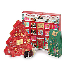 Godiva helps you relive childhood memories with this beautiful Advent & Christmas gift