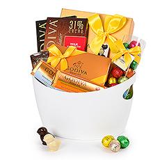 Godiva Easter White Basket