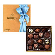 Godiva Father's Day : Gold Rigid, 14 pcs