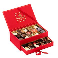 Leonidas Chocolate Assortment Jewelry Box, 30 pcs