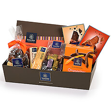 "Looking for the perfect gift for the chocoholic? This fun gift basket full of Leonidas chocolate delights is ""a dream come true."""