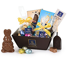 This gift basket with the beautiful Leonidas Easter collection is the perfect gift to celebrate all your favorite Easter traditions.