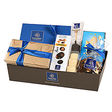 Whatever the occasion, this Leonidas Belgian chocolate gift hamper is an excellent choice. The varied assortment of favorite Leonidas chocolates is a thoughtful gift idea for birthdays, business gifting, and other special occasions.