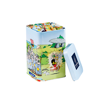Leonidas 2018 : Asterix Tin Box Napolitains, 400 g