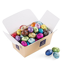 The Easter Bunny surprised us again with a box filled with scrumptious Easter eggs!