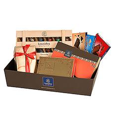écouvrez un nouveau coffret-cadeau Leonidas que tout amateur de chocolat adorera.