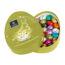 Surprenez vos proches avec cette magnifique boîte à chocolat, entièrement dans le thème de Pâques.