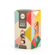 Barú Chocolate Marshmallows Assorted Flavours, 114 g