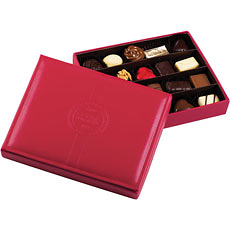 Corné Port-Royal Red Leather Box, 20 pcs