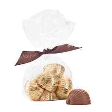 Corné Port-Royal Cello Bag with Gold Chocolates, 100 g