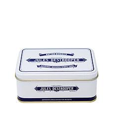 Jules Destrooper Tin Box Mini Retro Butter Crisps, 75g