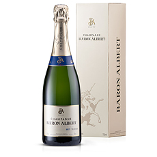 Champagne Baron Albert Brut with Etui, 75 cl