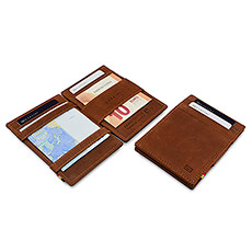 Garzini Essenziale 'Magic' Wallet Java Brown