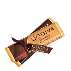 Godiva Barres de Chocolat, 2 pcs