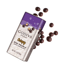 Godiva Crispy Mini Pearls Dark Chocolate, 35 g
