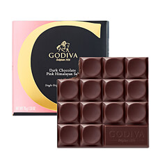 Godiva Tablet Dark Chocolate Pink Himalayan Salt, 75 g