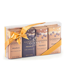 Godiva Pearls Assortiment, 4 pcs