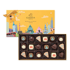 Godiva Wonderful City Of Dreams, 18 pcs