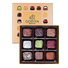 Godiva Cube Truffles, 9pcs