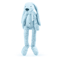 Rabbit Ritchie Soft Blue - h 38 cm