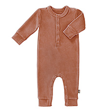 Pajamas Velvet Ash Rose, 3-6 Months