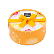 Leonidas Round Dora Orange Giftbox, 24 pcs
