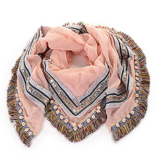Miracles Scarf Palma Pink - acsca080007