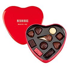 Neuhaus Red Heart Tin Box, 10pcs