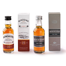 Duo Auchentoshan Whisky 5 cl & Bowmore Whisky 5 cl