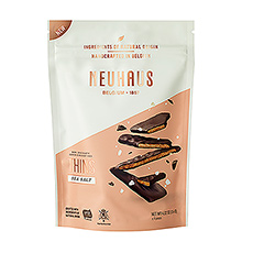 Neuhaus : Dark Chocolate Covered Nougatines, Sea Salt