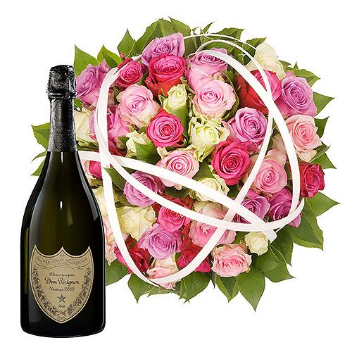 La Vie en Rose & Dom Perignon