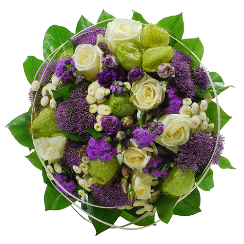 Bouquet Jardin Bleu - Medium (30 cm)