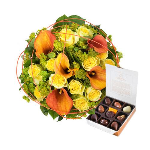 Charme d'Or & des Chocolats Godiva