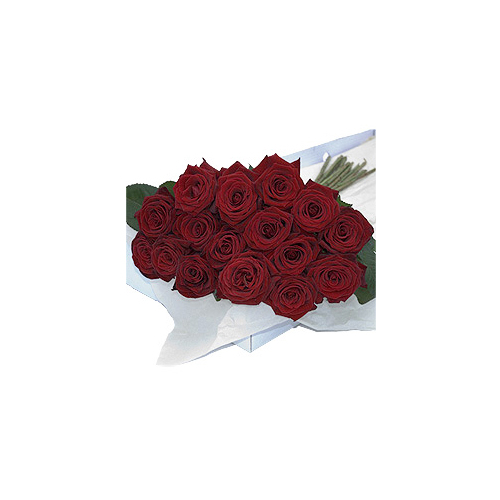 Flower Box Red Roses 40 pcs