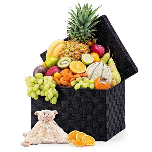Corbeille Fruitée & Peluche