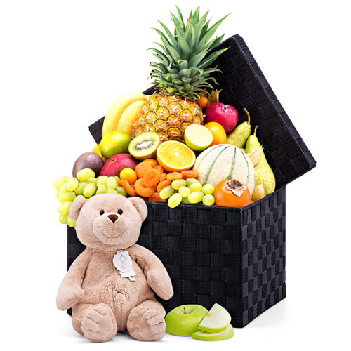 Fruit Symphony & Buster Teddy Bear Plush Toy