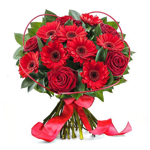 Bouquet Roses Romance