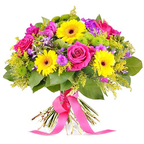 Bouquet d'Eté Brillant - Luxe (40 cm)