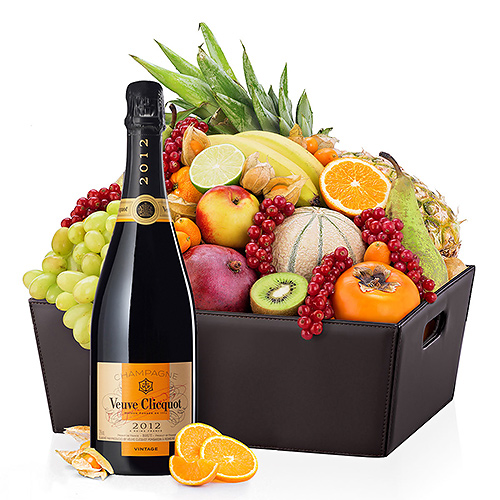 VIP Corbeille de Fruits & Veuve Clicquot