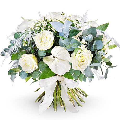 Elegance White - Large (35 cm)