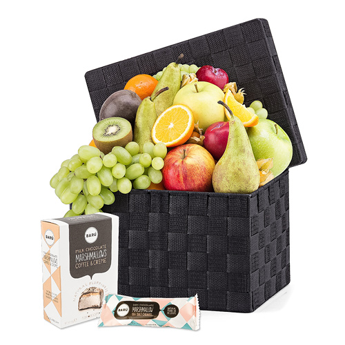 Exotic Fruit Hamper Deluxe & Barú Hippo Handbag
