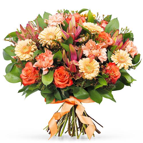 Bouquet Orange - Prestige (45 cm)