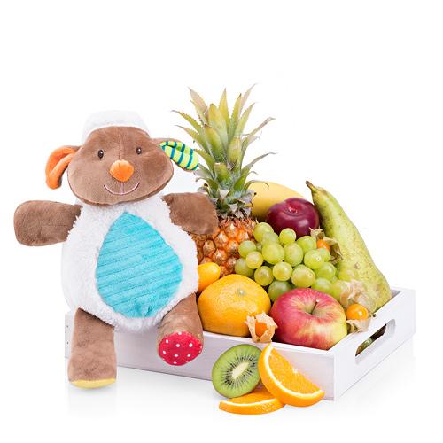 Minimi Plush & Fruit Tray
