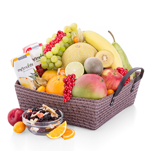 Fruit & Smoothie Gift Basket