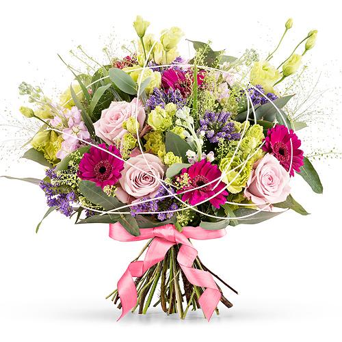 Flowers 2018 : Purple Summer Bouquet - Prestige (45 cm)