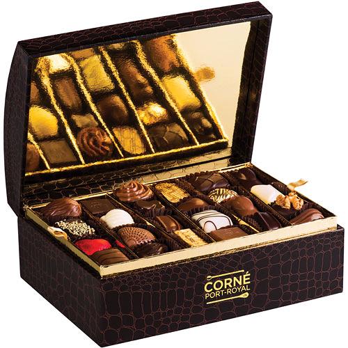 Coffret Croco Assortiment Chocolats, 680 g, 48 pralines