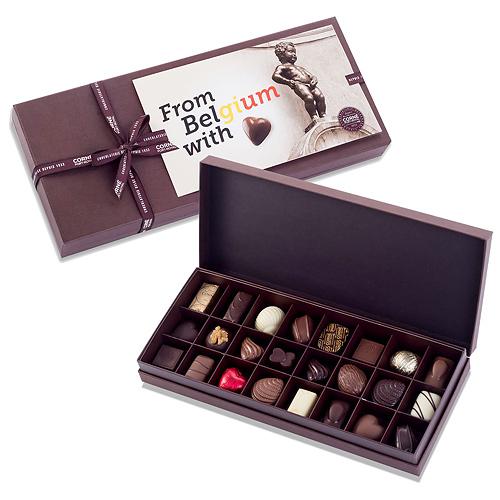 Corné Port-Royal Boîte Cadeau From Belgium With Love, 24pcs